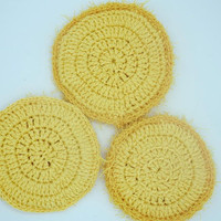Crochet sponge, washloth, dishcloth, exfoliating scrubby scrubbies