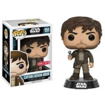 REPLACEMENT - FUNKO POP! STAR WARS: ROGUE ONE CAPTAIN CASSIAN ANDOR (BROWN JACKET)