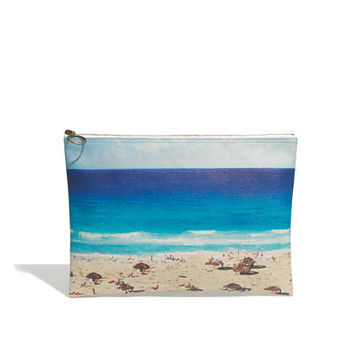 Large Zip Pouch in Beachday