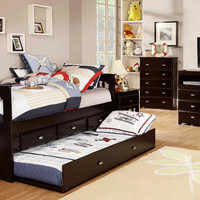 Huntington Twin Combo Captains Bed