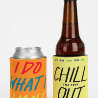 Spring Break Insulated Drink Holder - Set Of 2 - Urban Outfitters