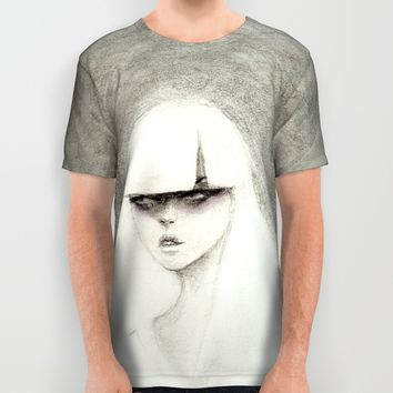 From the Other Side All Over Print Shirt by Ben Geiger