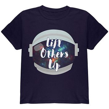 Anti-Bullying Astronaut Space Lift Others Up Youth T Shirt