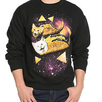 Taco Cats Crewneck Sweatshirt | Hot Topic