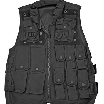 Tactical Police Vest - Black