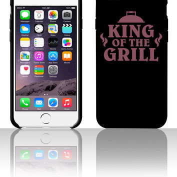 King Of The Grill 5 5s 6 6plus phone cases