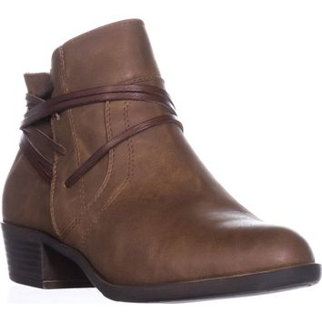 madden girl Become Casual Ankle Boots, Cognac, 7 US