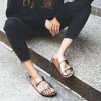 Birkenstock Womens Arizona Metallic Birkenstock