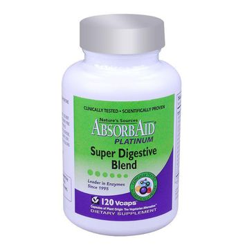 Absorbaid Platinum Super Digestive Blend - 120 Vcaps