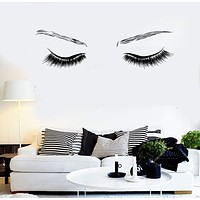 Vinyl Wall Decal Beauty Sexy Eyes Spa Salon Girl Room Stickers Unique Gift (ig4540)