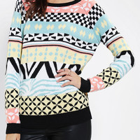 Urban Outfitters - Cooperative Mod Fair Isle Sweater
