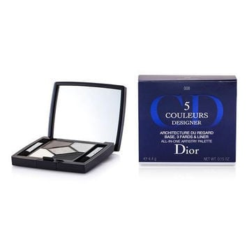 Christian Dior 5 Color Designer All In One Artistry Palette - No. 008 Smoky Design --4.4g-0.15oz By Christian Dior