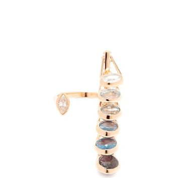 Dancing 18kt rose gold open ring | Marie Mas | MATCHESFASHION.COM US