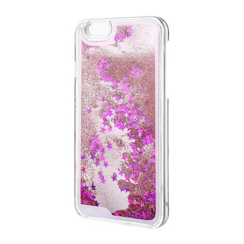 Dynamic Liquid Bling Star Quicksand Case for Samsung Galaxy S3/S4/S5/S6/S7 and For Iphone 4S/5S/6S/6S Plus