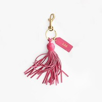 Leather Tassel Key Chain | Mark and Graham