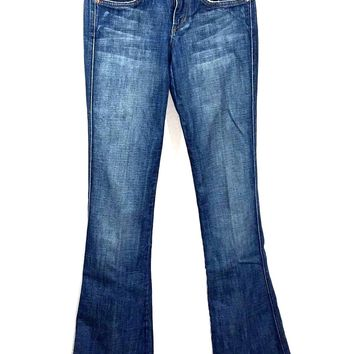 Joe's Jeans Rocker Boot Cut Miles Medium Wash Stretch Womens 24 - Preowned