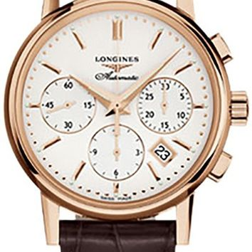 Longines Heritage/ The Column-Wheel Chronograph Men's Watch L2.733.8.72.2