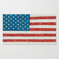 USA Rug by Bianca Green
