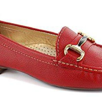 Women's Genuine Leather Made In Brazil Grand Street Buckle Loafer Marc Joseph NY Fashion Shoes
