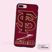 Florida State Seminoles Grid Logo CASE iPhone 6s/6s+/7/7+/8/8+, X and Samsung