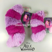 "Alice In Wonderland Cheshire Cat Tail Soft Stuff Plush Toy Doll Birthday Gift Collection 5"" NEW"