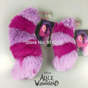 """Alice In Wonderland Cheshire Cat Tail Soft Stuff Plush Toy Doll Birthday Gift Collection 5"""" NEW"""