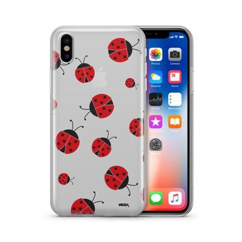 Ladybug - Clear Case Cover Phone Case