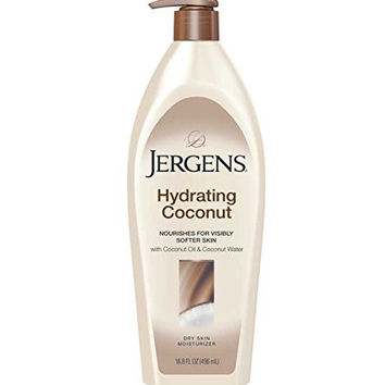 Jergens Hydrating Coconut Lotion, 16.8 Ounce