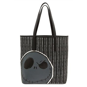 Disney Jack Skellington Tote Bag by Loungefly New with Tags