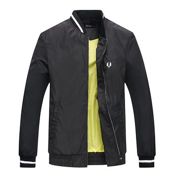 Boys & Men Fred Perry Cardigan Jacket Coat