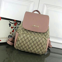 GUCCI WOMEN'S LEATHER BACKPACK BAG