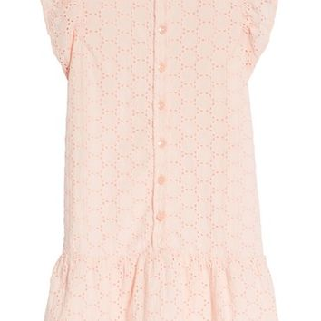 Tea Collection Eyelet Woven Dress (Toddler Girls, Little Girls & Big Girls) | Nordstrom