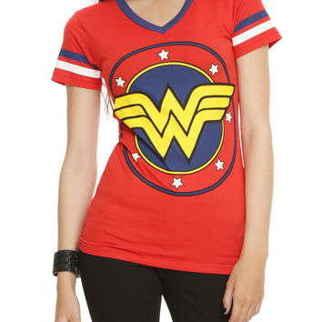 DC Comics Wonder Woman Logo Girls T-Shirt