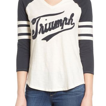 Lucky Brand Triumph Football Tee | Nordstrom
