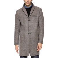 Harris Wharf Tweed Overcoat