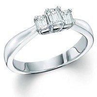 Classic Emerald Cut Ready For Love Diamond Engagement Ring Steven Singer Jewelers