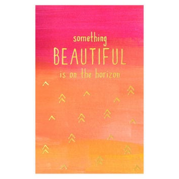 Something Beautiful Greeting Card