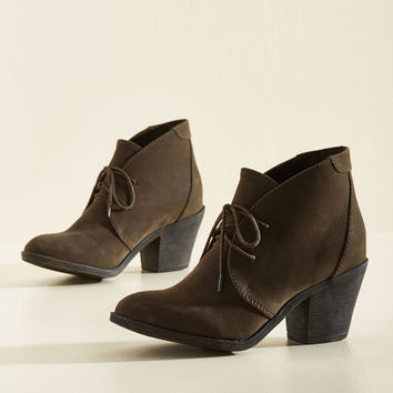 One Thing Leaps to Another Bootie | Mod Retro Vintage Boots | ModCloth.com