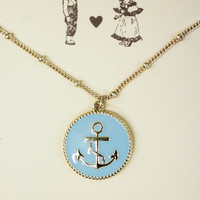 Anchor Pendent Necklace
