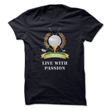 Golf - Live with passion
