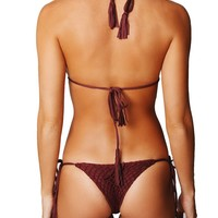POLIHALE BOTTOMS - MERLOT | Acacia | IT'S NOW COOL