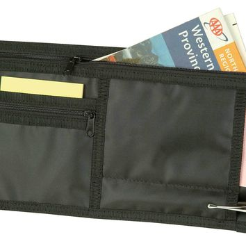 DALIX Car Visor Organizer for Sun Shades and Traveling or Road Trips