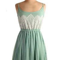 JADE SPLENDID PLEATED DRESS