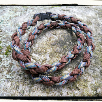Camo Brown Survival Necklace