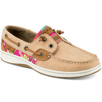 SPERRY WOMEN'S RAINBOW FISH SLIP-ON BOAT SHOES