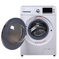 PREMIUM 2.0 cu. ft. All-in-One Front Load Washer and Electric Dryer in White-PWDC202FM - The Home Depot