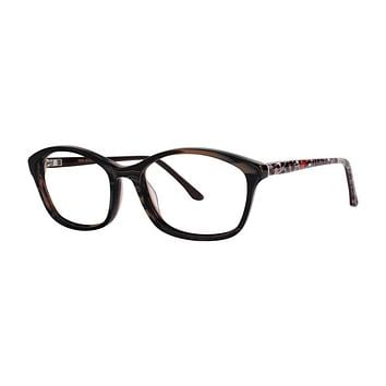 Dana Buchman - Felina 50mm Tiger Black Eyeglasses / Demo Lenses