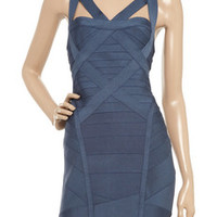 Hervé Léger Crossover bandage dress – 55% at THE OUTNET.COM