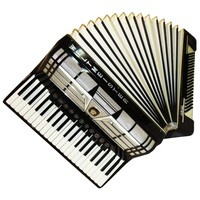 Weltmeister Amigo, 120 Bass, 16 Registers, Case, German Piano Accordion, 625