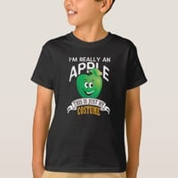 Apple Halloween Costume This Is Just My Costume T-Shirt